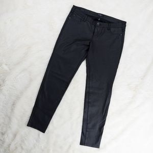 Celebrity Pink Faux Leather Jeans